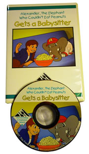 Alexander the Elephant Gets a Baby Sitter