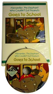 Alexander the Elephant Goes to School
